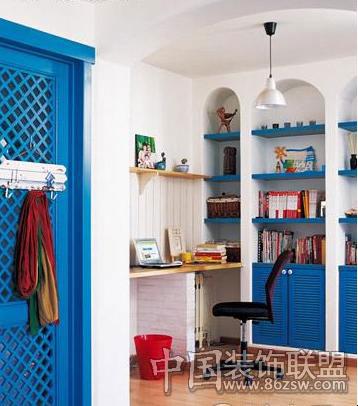 蓝色家居 地中海风格