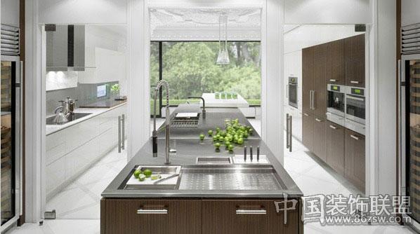 小户型厨房设计 时尚亮丽