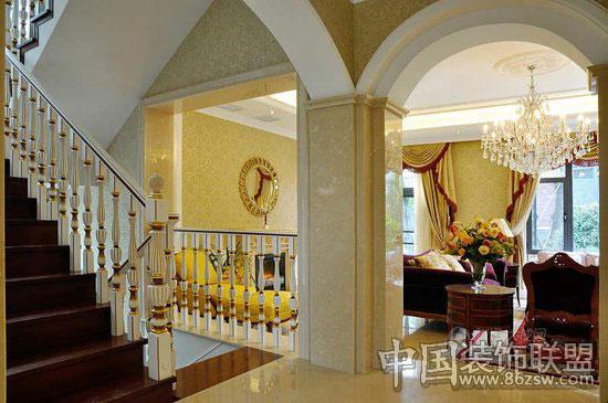 欧式田园风格别墅设计-家装设计-八六(中国)装饰联盟