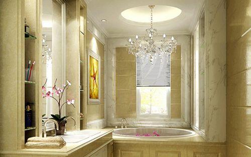 浴室欧式挂画贴图