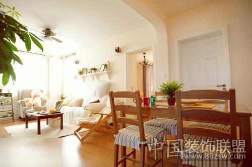 和式风格家居设计效果-家居布置-八六(中国)装饰联盟