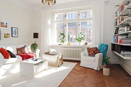 带有自然风情的瑞典公寓