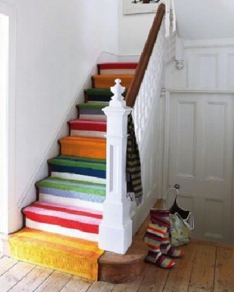 惊艳无比的复式家居楼梯