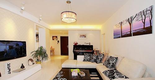 17万元装修102平米温暖新房