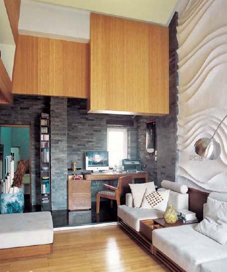 98平米复式混搭公寓