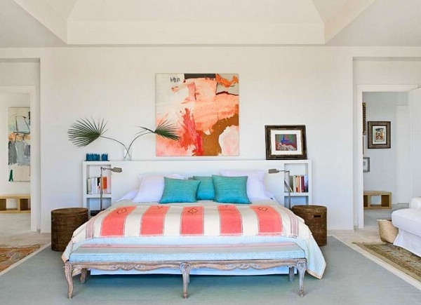 让夏天拥有舒适睡眠的卧室装修