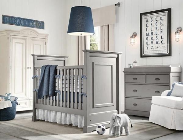 仿若童话世界的梦幻婴儿房