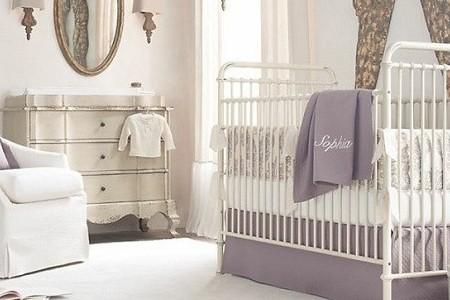 充满活泼气息的婴儿房布置