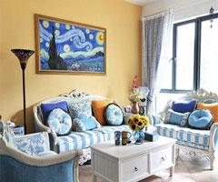 打造地中海风格客厅