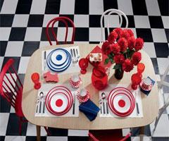 新春佳节添喜气 红色的餐厅风格