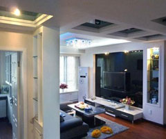 二十万打造时尚的80平顶层阁楼居室