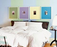 创意床头床具为你整体装修加分