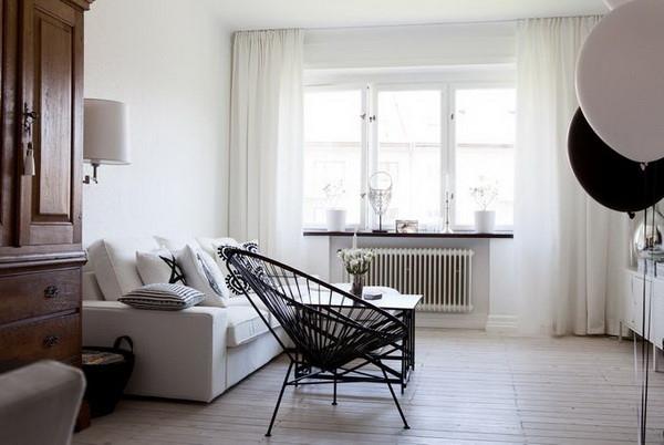运用黑与白来诠释家居设计经典