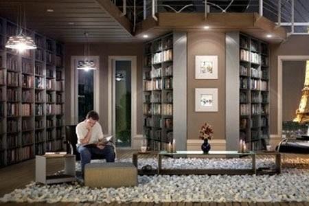 打造一个完美惬意的家庭图书馆