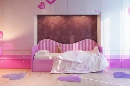以粉色为女孩儿童房主题的精品推荐