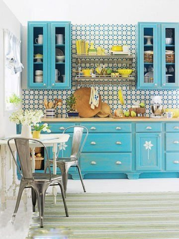 小厨房节省空间的多种收纳方式