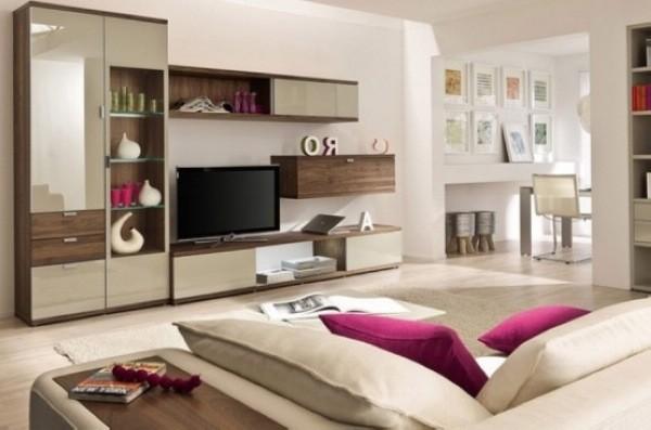 优雅的米色客厅设计