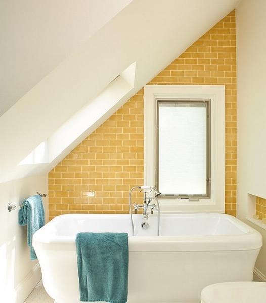 充满希望的浴室装修色彩印象