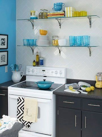 功能很强悍的厨房收纳家具