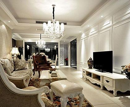 143平米三室两厅简欧风格