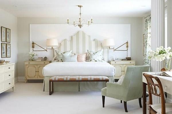 五款白色简约复古卧室设计