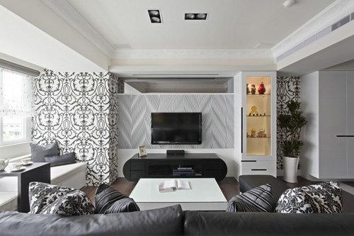 100平米新现代元素家居