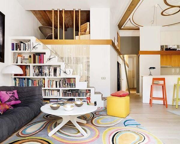 8款创意楼梯存储空间设计