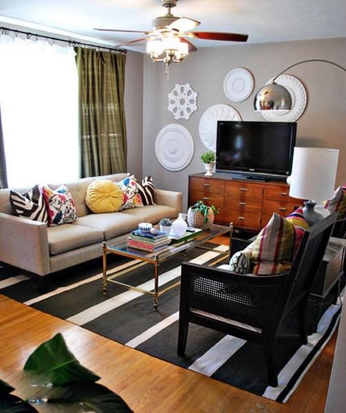 五款精致小客厅装修设计
