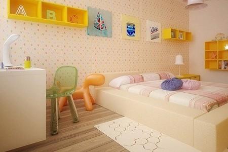用色调、家具、装饰品为儿童带来全新家居生活