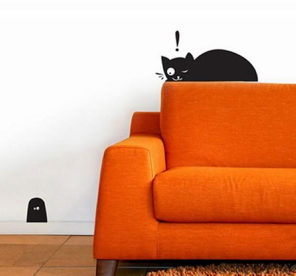 猫咪空无法抵挡的猫壁纸