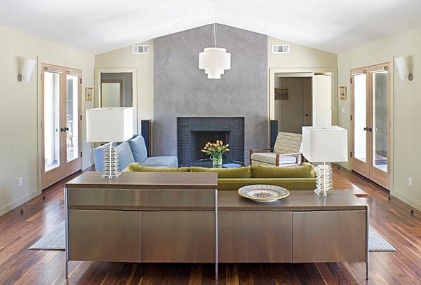 丰富多彩的家居储物柜设计
