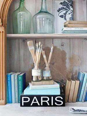 实用又美观的艺术书架
