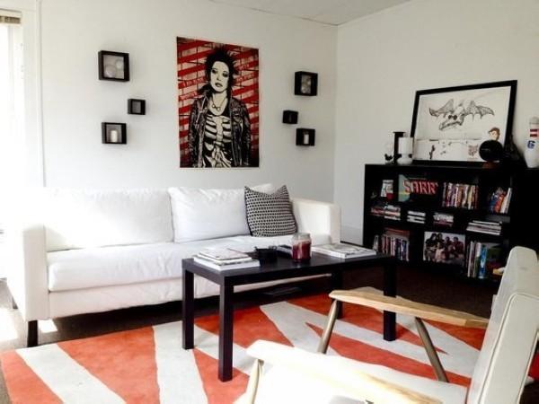 欧美温馨舒适的起居室装修设计