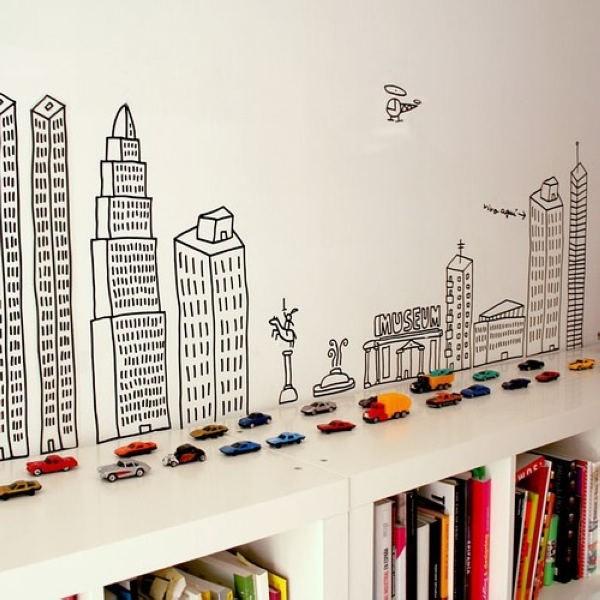 家居空间收纳  创意书架设计