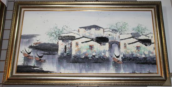 中国风油画,无法拒绝的古典诱惑