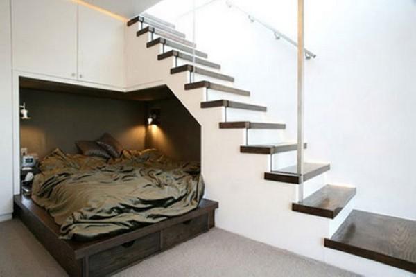 优雅楼梯角空间设计