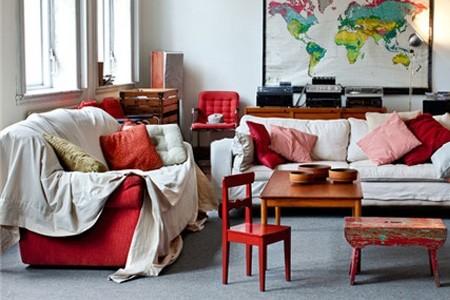 """让生活空间""""亮""""起来的色彩家居设计"""