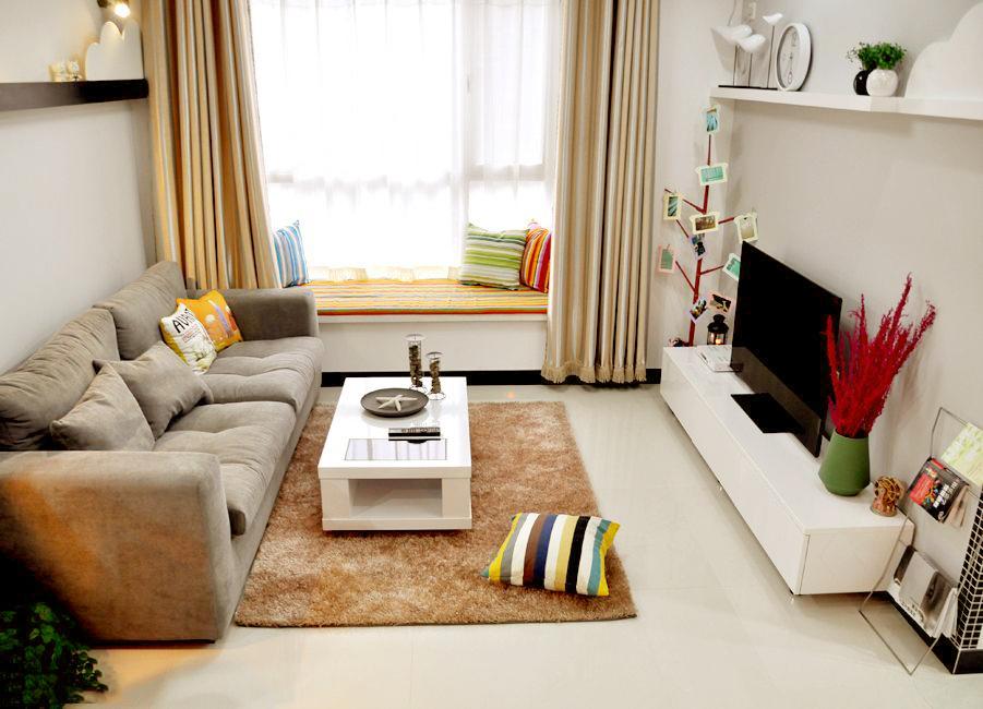 74平米创意简约白领小居室