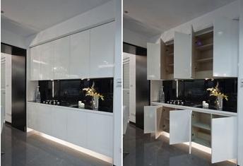 纯白色系居家 板材材质的运用与维护!