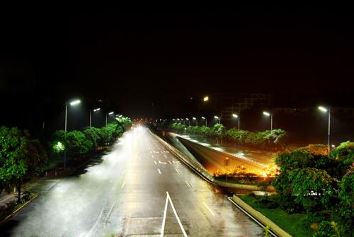 江苏泰州实现城市道路照明节能