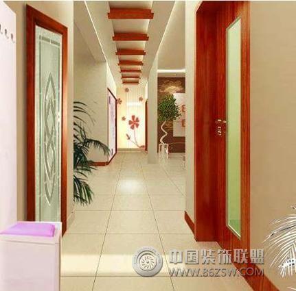 走廊是反映居室装饰与文明环境的一面镜子