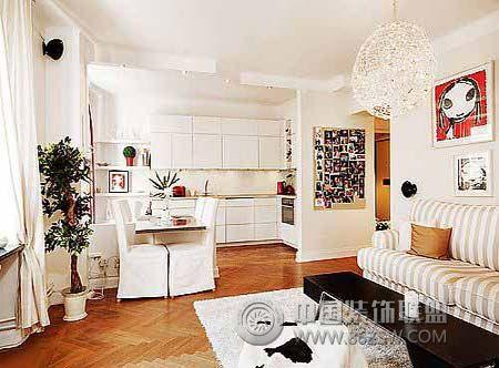 不同材质壁纸适合不同的房间