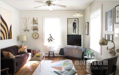 客厅电视背景墙设计案例