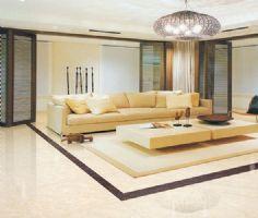 客厅地板砖效果图 暖色调搭配家居