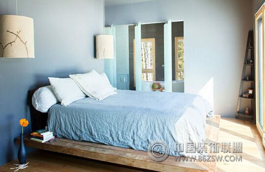 简单卧室助好眠 木地板装修有技巧