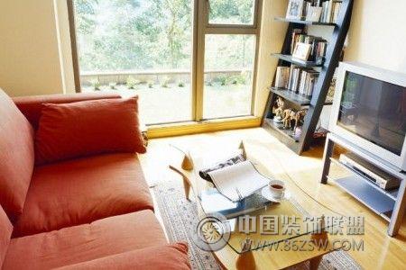 绚丽色彩的客厅设计