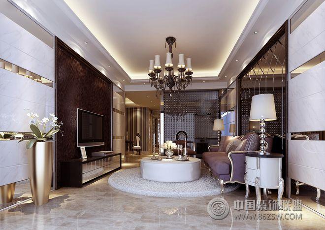 138平三居欧式古典风格装修案例