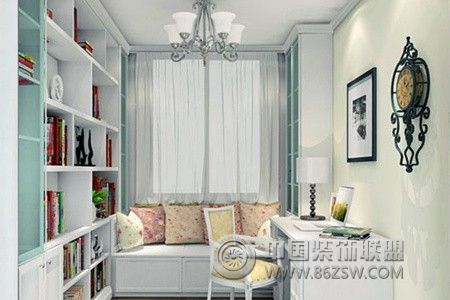 四款韩式田园风格书房设计案例