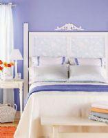 让卧室绽放光彩的单色系墙面