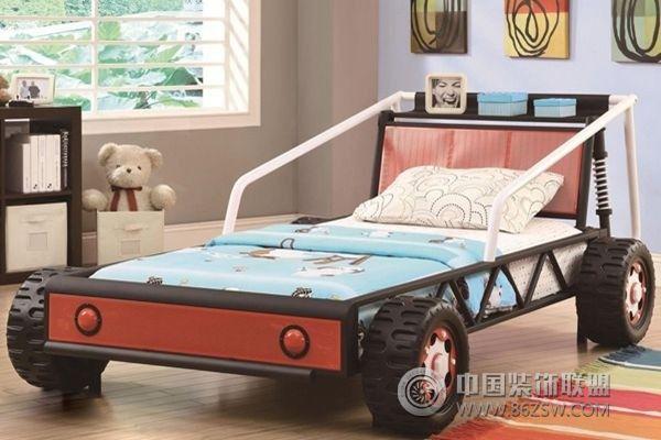 八款汽车主题儿童房设计 给孩子不一样的童年